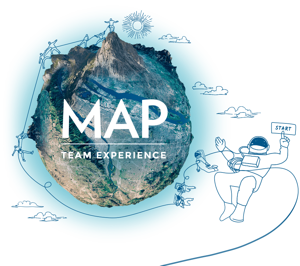 MAP Team Experience: progettiamo esperienze per migliorare la capacità delle persone di lavorare insieme